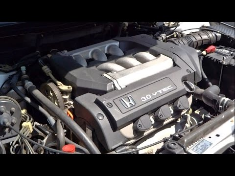 how to change engine oil in honda accord and acura v6 1998