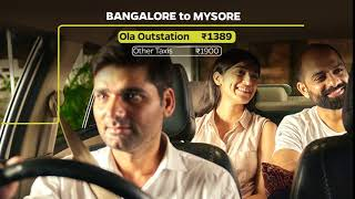 Ola Outstation - your easiest ride out of town