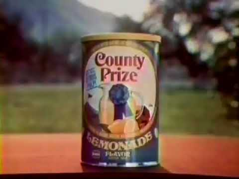 County Prize Lemonade 1976 Commercial