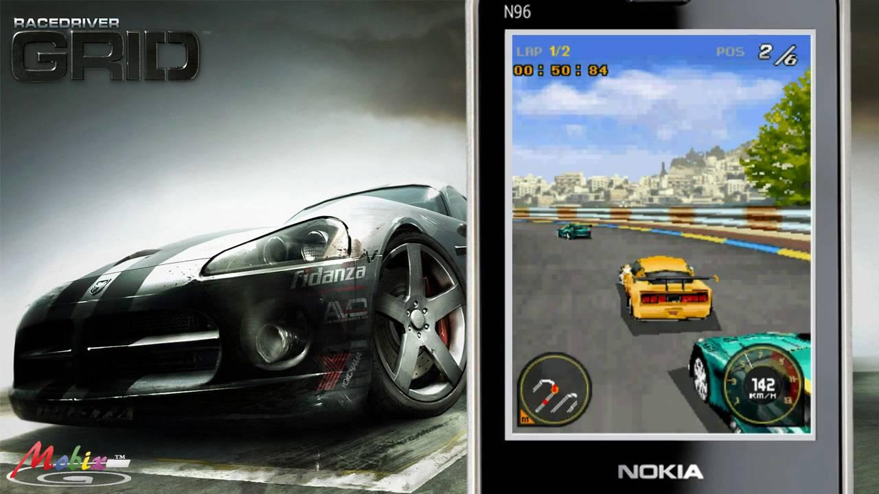 Hd Glu Race Drive Grid 3d Java Mobile Phone Game