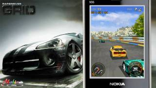 vuclip [HD] glu Race Drive Grid 3D Java Mobile Phone Game
