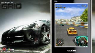 vuclip [HD] glu Race Drive Grid 3D Java Mobile Phone Game