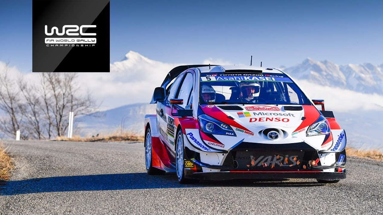 Wrc Rallye Monte Carlo 2019 Shakedown Highlights Youtube