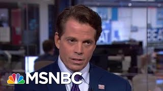 Journalist Gets Scaramucci To Admit Trump Growing The Deficit | The Beat With Ari Melber | MSNBC