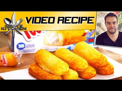How to make Twinkies | Nicko's Kitchen