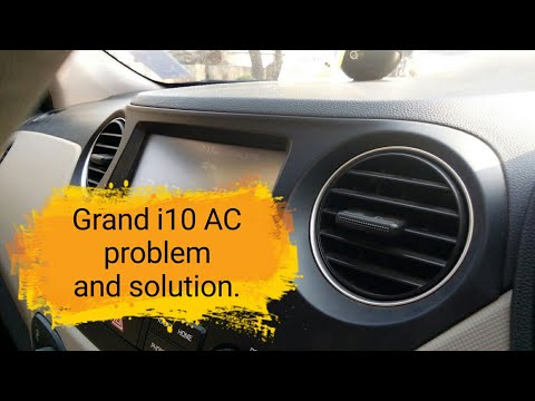 Grand i10 AC problem (rear seat cooling) and solution.