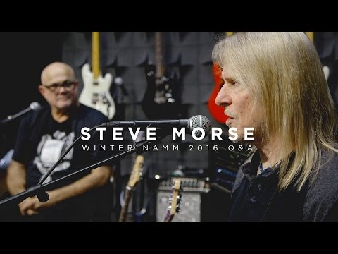 Ernie Ball: Steve Morse Q&A | Live from NAMM 2016