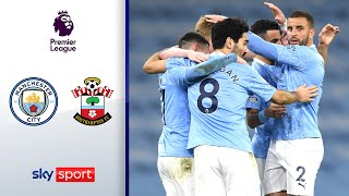 Man City zurück in der Erfolgsspur | Manchester City - Southampton 5:2