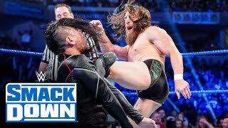 Roman Reigns & Daniel Bryan vs. King Corbin & Nakamura: SmackDown, Oct. 18, 2019