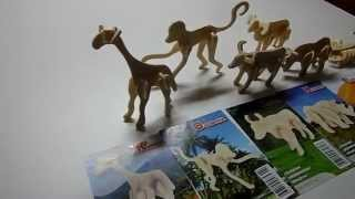 Creatology Wooden Puzzle Collection Of Animals Video For Boys And Girls