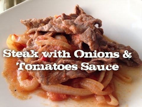 Easy way to make steak sauce at homemade tomatoes