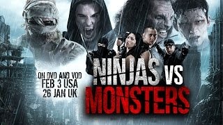 Ninjas Vs Monsters: The Movie Executive Produced by the Blair Witch...