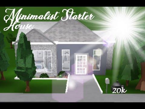 Bloxburg How To Build A 24k Modern House Printed 2019 Unused