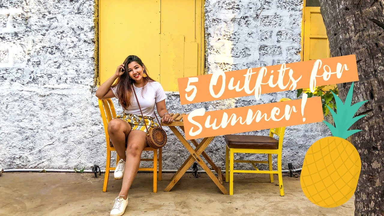 [VIDEO] - Summer Lookbook 2019 |  5 Outfit Ideas | The Nyeree Diaries 2