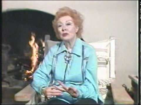 Vintage Greer Garson Interview Circa 1985 TVO PART 1.