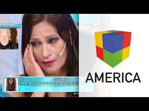 Escándalo en #Intrusos: Andrés Nara dejó a Cari en vivo y la hizo llorar