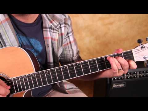 Allman Brothers -  Midnight Rider -  How to Play Acoustic Blues Classic Rock tunes  - Tutorial