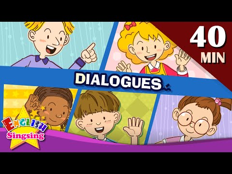 Good morning+More Kids Dialogues | Learn English for Kids |