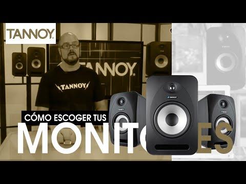 Tannoy presenta : Como escoger tus monitores de estudio