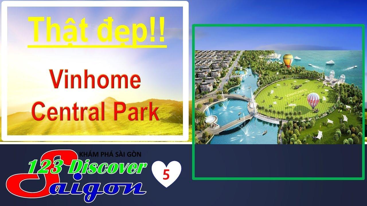 123 Huy Cường TV|TUYỆT VỜI CÔNG VIÊN VINHOMES CENTRAL PARK – KHU VUI CHƠI TRẺ EM|Saigon Travel