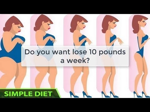 simple diet  meal plan how to lose 10 pounds in one week