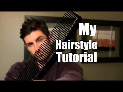Alpha M Hairstyle Tutorial | Aaron Marino's Hairstyle | Men's Medium Length Hairstyle