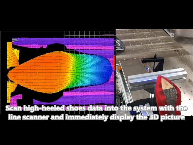 High Heeled Shoes 3D Modeling and Glue Path Calculation