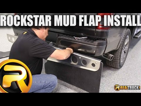How to Install RockStar Universal Hitch Mounted Mud Flaps