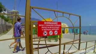 прогулка из пансионата «Гринцовский» до пляжа Дельфин(пансионат «Гринцовский» Ялта, Ливадия http://www.grincovskiy.com/, 2013-07-10T17:09:16.000Z)