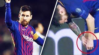 Pourquoi Messi met-il des petites pilules dans ses chaussettes ? - Oh My Goal
