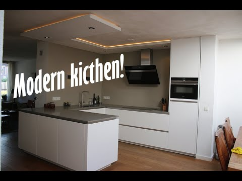 Building A Modern European Kitchen