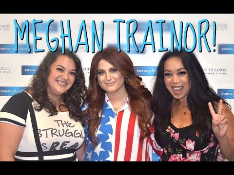 MEETING MEGHAN TRAINOR!!! - July 16, 2016 -  ItsJudysLife Vlogs