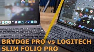 Logitech Slim Folio vs Brydge iPad Pro Case | 4K