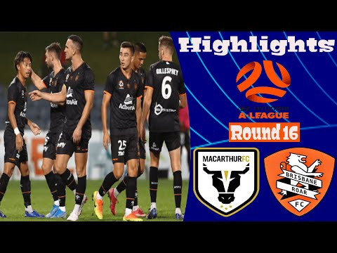 Macarthur FC Brisbane Roar Goals And Highlights
