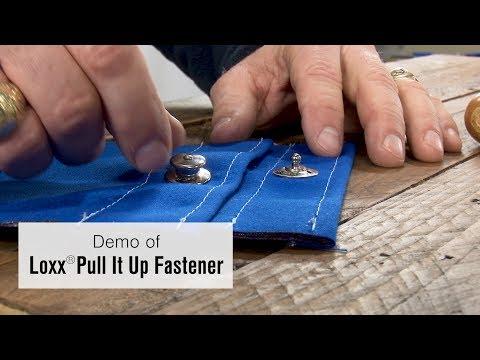 Loxx® Pull it Up Fastener Demo - Locking Marine Fastener