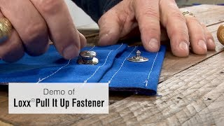 Loxx® Pull it Up Fastener Demo - Locking Marine Fastener