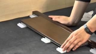 特力屋晶綻綵薈速拼實木地板安裝步驟