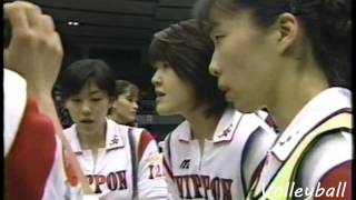 【Women Volleyball】【1997 Grand Champ】【China vs Japan】