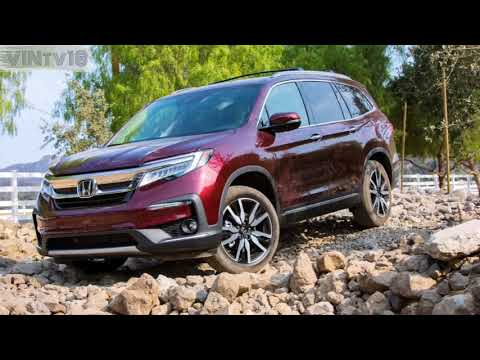 Honda Pilot 2019 Aggressive SUV!