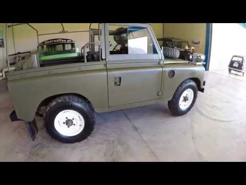Land Rover 88 (Series III) walkaround