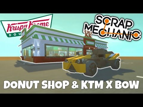 KTM X-Bow & Krispy Kreme Donut! - Town Scrap Mechanic Gameplay - EP 237