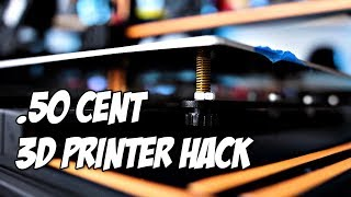 .50 Cent 3D Printer Hack