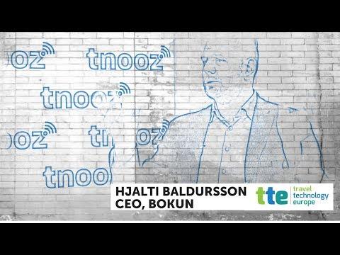 Bokun CEO Hjalti Baldursson: tnoozLIVE@TTE 2018