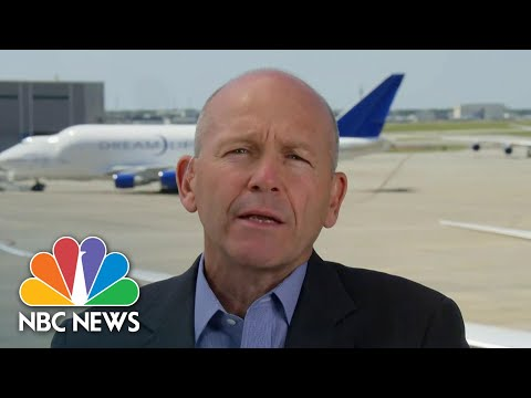 Boeing CEO Says COVID-19 Pandemic Could Force Major U.S. Airline Out Of Business | NBC Nightly News