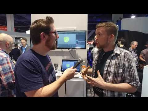 NAB 2017 Interview - Cinema 4D Tutorial Artist Chris Schmidt of Greyscalegorilla.com