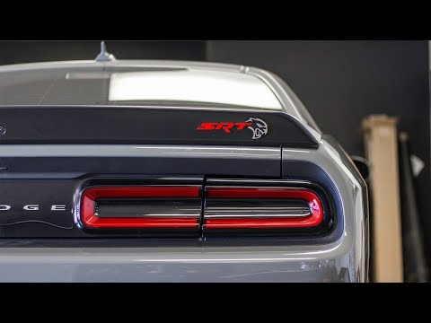 DODGE HELLCAT HOOD VINYL WRAP + NEW BUSINESS COLLABORATION
