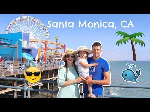 NOS FUIMOS A SANTA MONICA, CALIFORNIA!!!