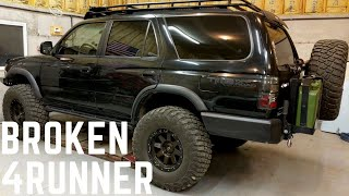 Icon Tools first look & Toyota 3rd Gen 4Runner Problems!