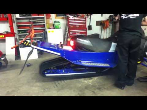 how to change track 2004 snopro 440 mod