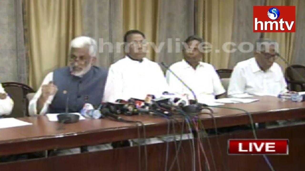 ysrcp-leaders-press-meet-over-jagan-attacked-case-delhi-hmtv